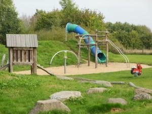 legeplads på det grønne område